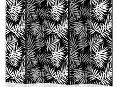 Paraván - Black and White Jungle II [Room Dividers]